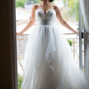 Wedding Dress: Hayley Paige, ESTHER 6507, Size 10